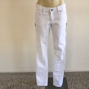 BCBG MaxAzria Skinny Zipper Jean sz 27!